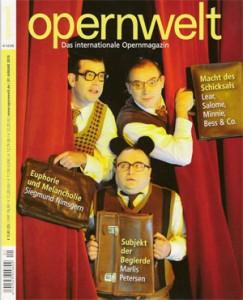 Titelbild Opernwelt L'Etoile